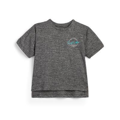 Younger Boy Grey California Slub T-Shirt