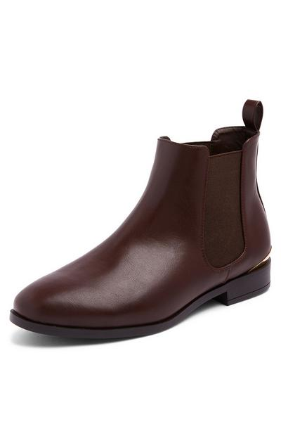 Braune Chelseaboots