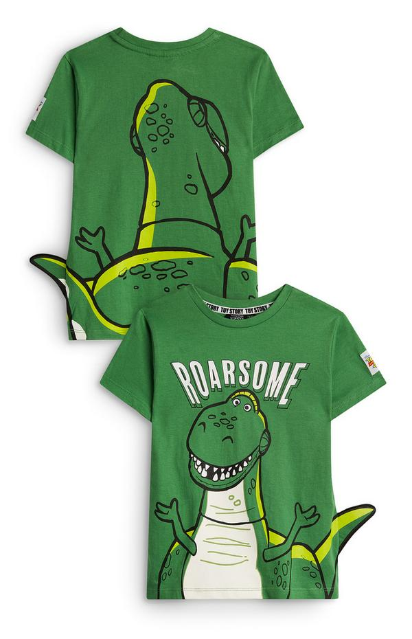 T-shirt Rex Toy Story menino verde