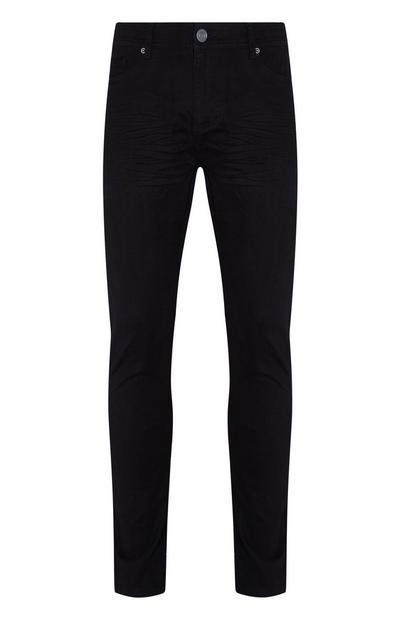 Jean skinny noir en sergé