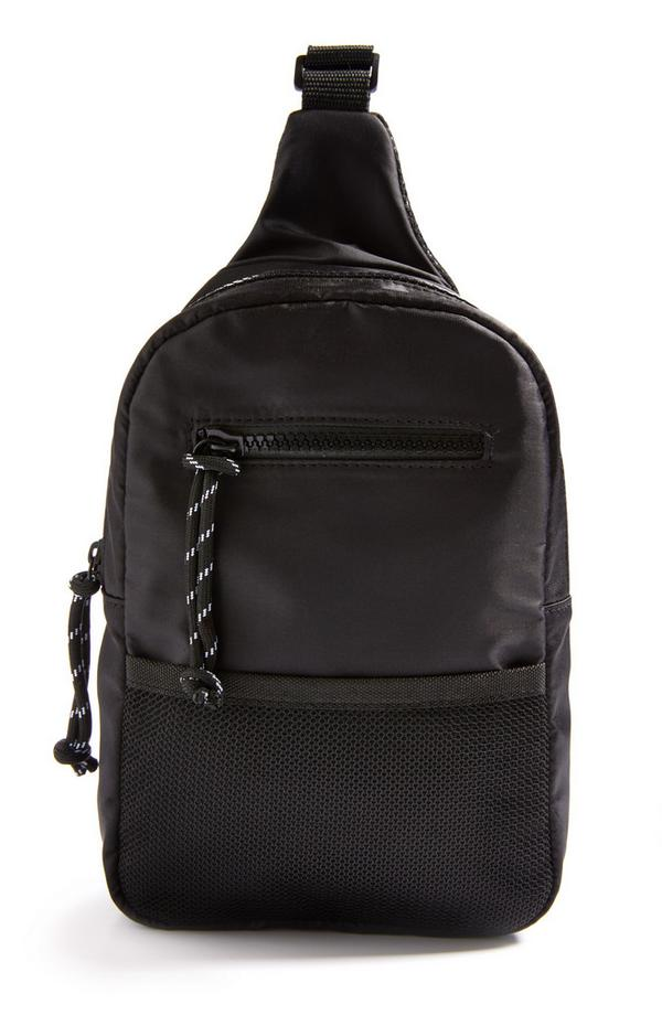 Zwarte borsttas