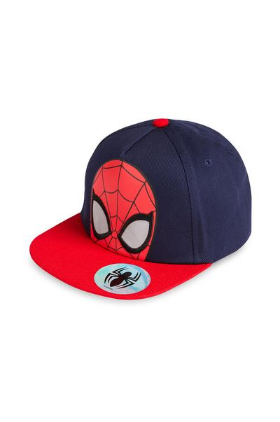 Red And Navy Spiderman Baseball Cap