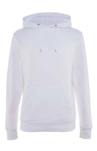 White Pullover Hoodie