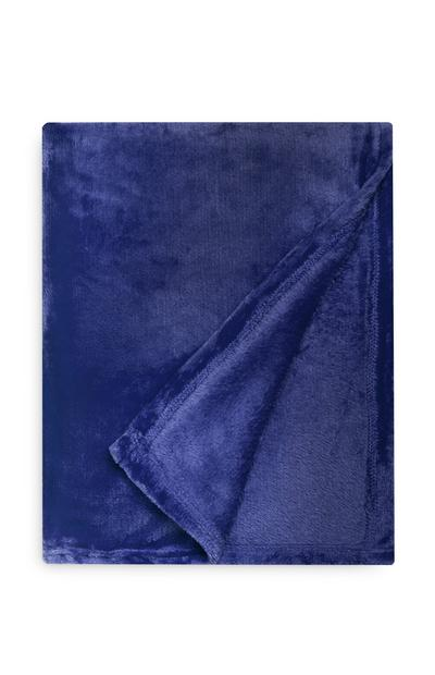 Blue Extra Large Throw