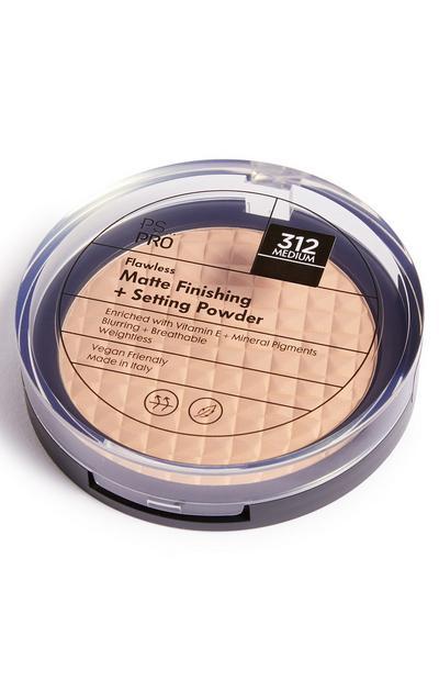 Poudre de finition fixante mate teint parfait PS Pro 312 Medium