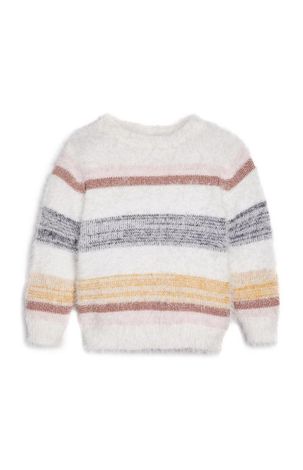 Gestreifter Pullover (kleine Mädchen)