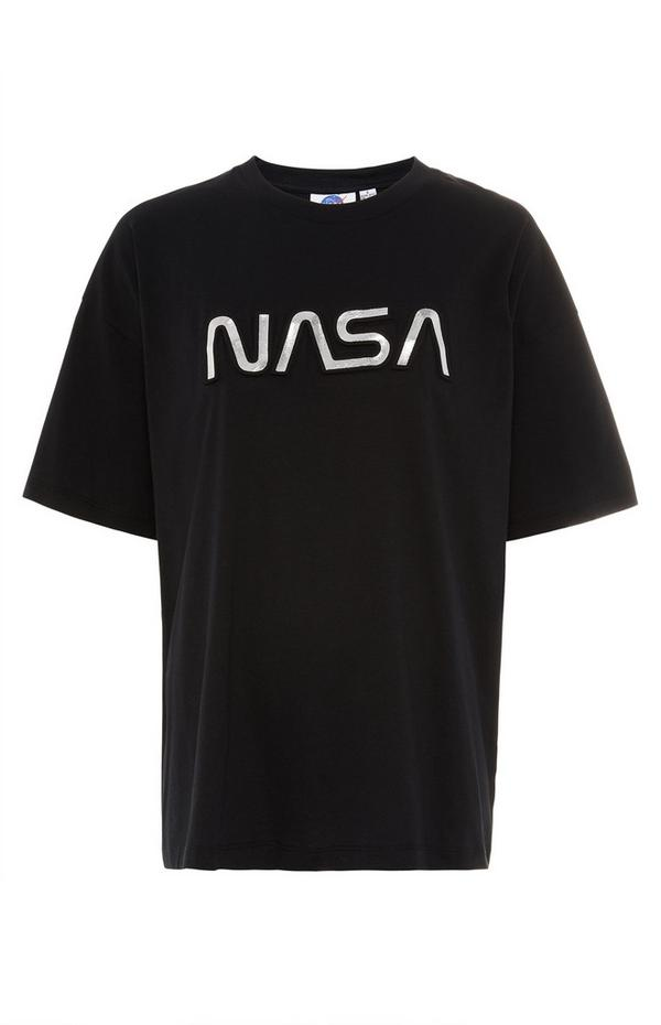 Black NASA T-Shirt