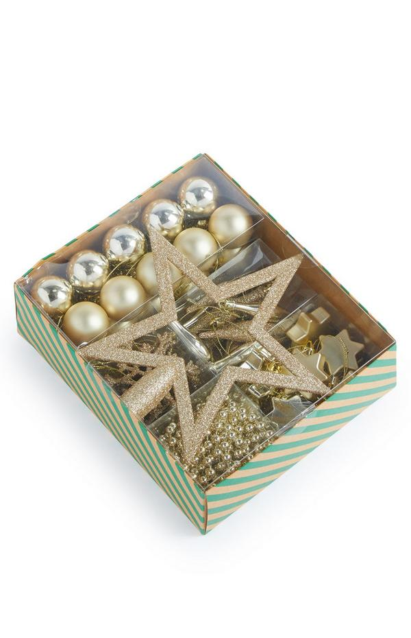 Gold Starter Bauble Pack