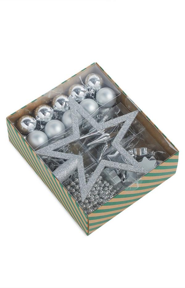Silver Starter Bauble Pack