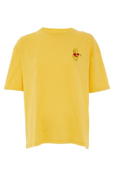 T-shirt Winnie The Pooh amarelo