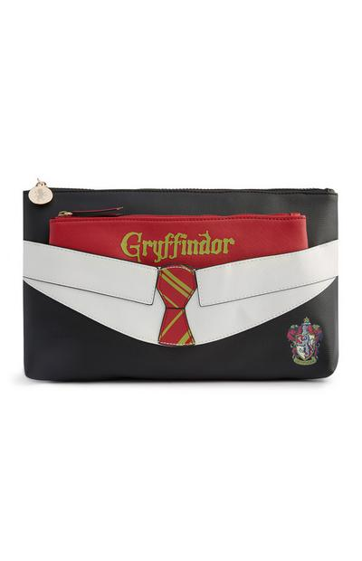 Trousse de toilette Harry Potter Gryffindor rouge 2 en 1