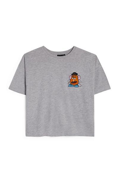 Grey Mr Potato Head T-Shirt