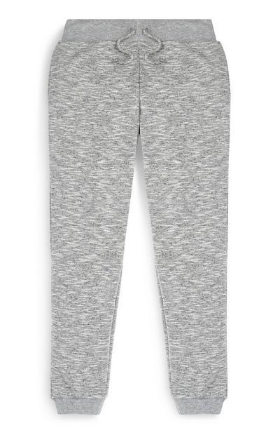 Pantalón de chándal gris para niño mayor
