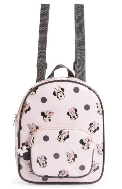 Pink Disney Minnie Mouse Backpack