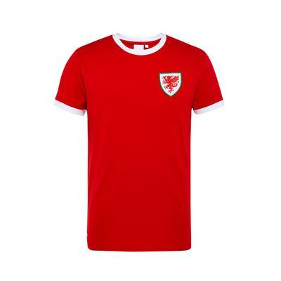 Red Wales Euros Football T-Shirt