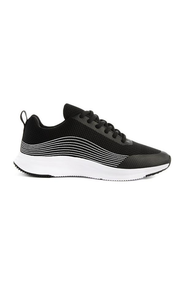 Zwart-witte sneaker