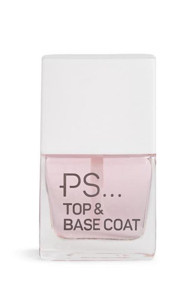 Vernis à ongles base et top coat PS