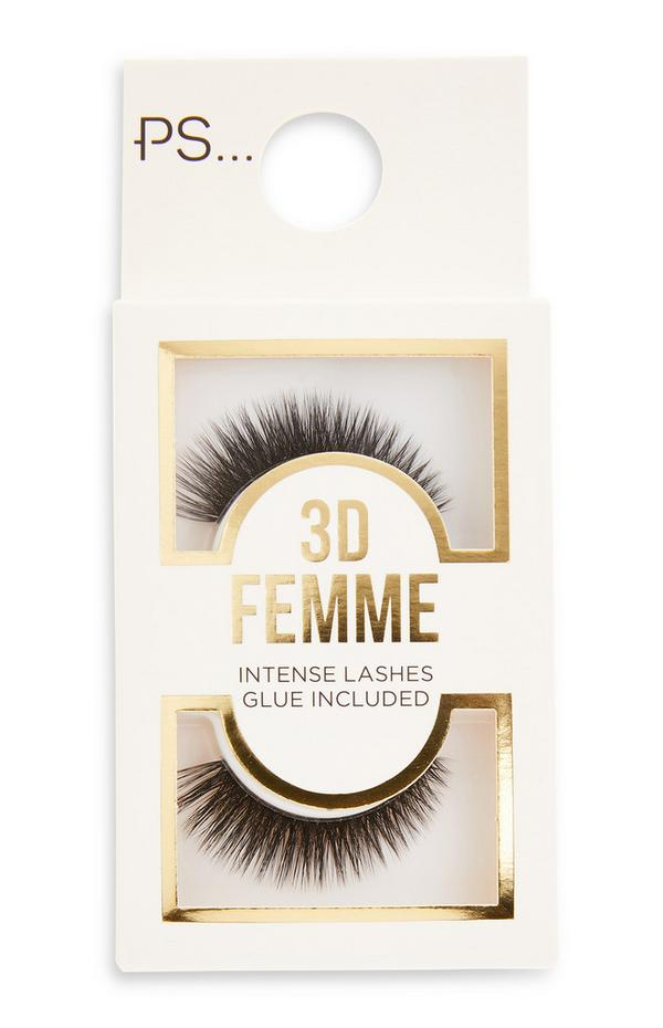 PS 3D Femme-nepwimpers