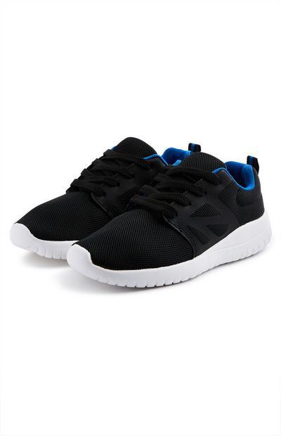 Zwarte sneakers voor jongens