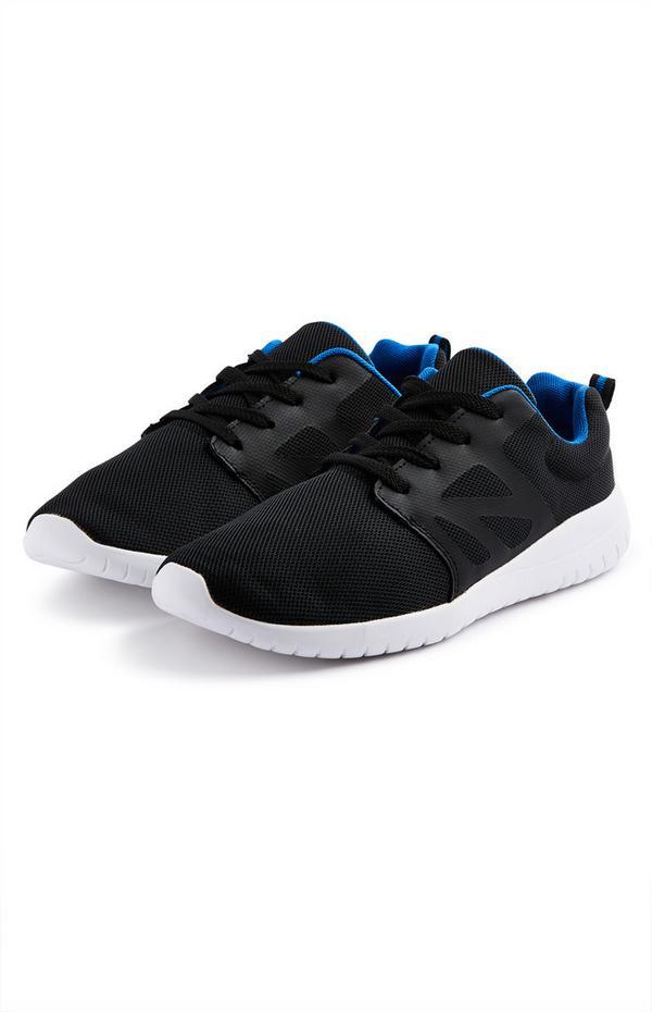 Older Boy Black Phylon Sneakers