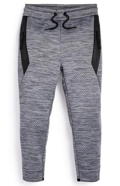Younger Boy Spacedye Mesh Jogger