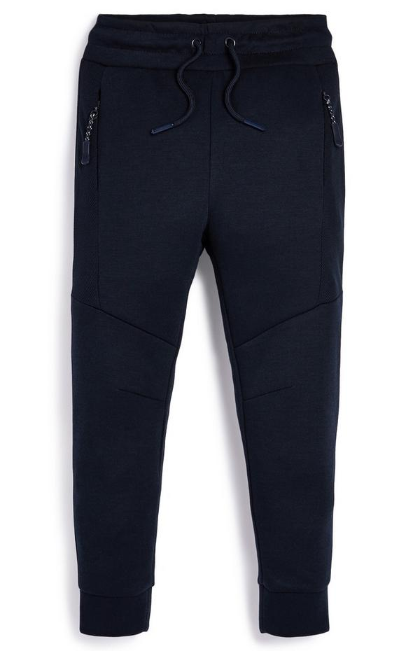 Younger Boy Sporty Mesh Joggers