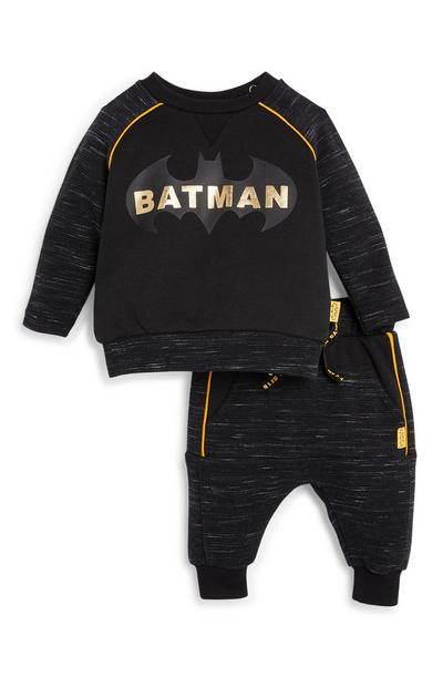 Baby Boy Batman Sweater and Joggers Set