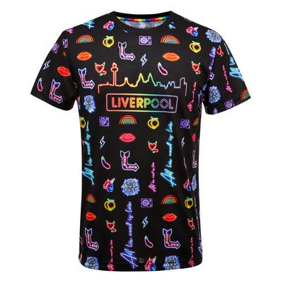 Proud Neon Liverpool Print T-Shirt