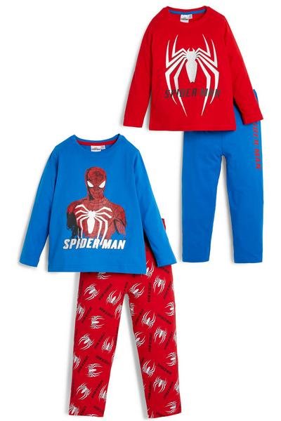 Pack de 2 pijamas de Spiderman