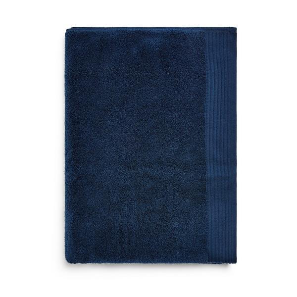 Extra Large Navy Ultra Soft Bath Towel