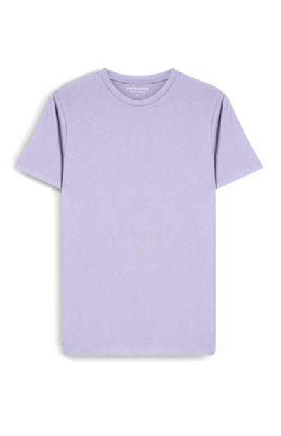 T-shirt viola chiaro slim fit