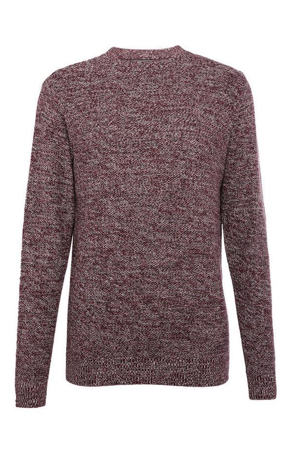 Moss Stitch Twist Sweater