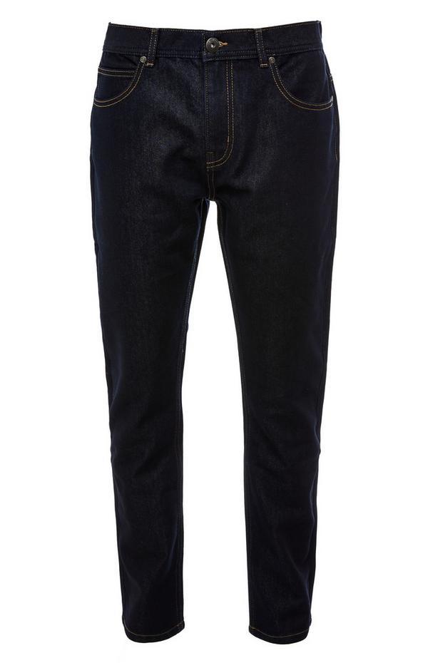 Comfortabele donkerblauwe spijkerbroek
