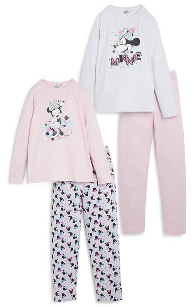 Pack de 2 pijamas de Minnie Mouse