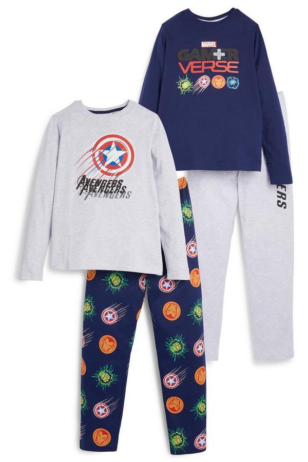 Pyjamaset Marvel, 2 st.