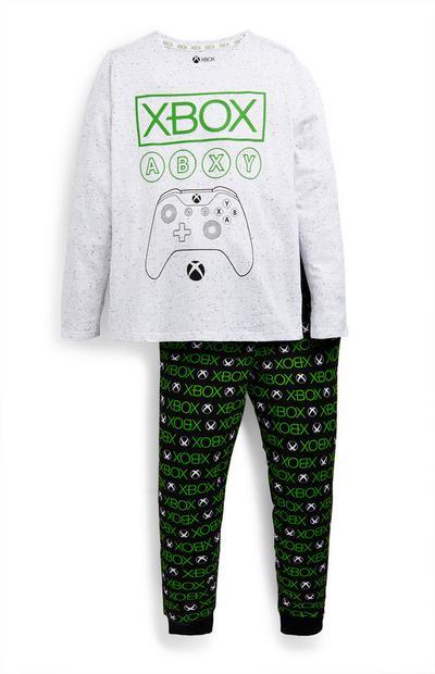 """""""Xbox"""" Pyjama in Grau und Schwarz (Teeny Boys)"""