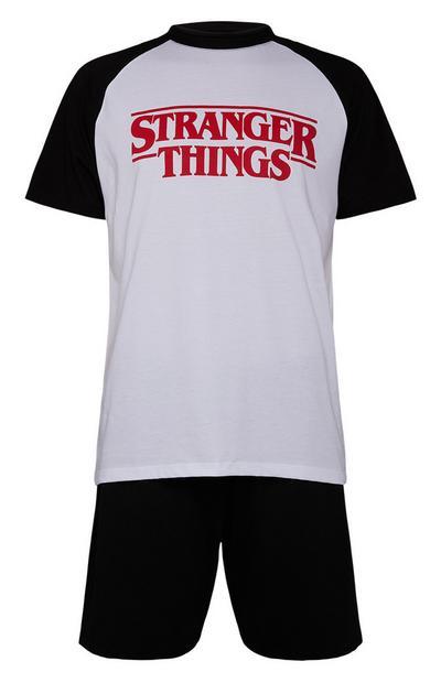 Conjunto t-shirt/calções Stranger Things