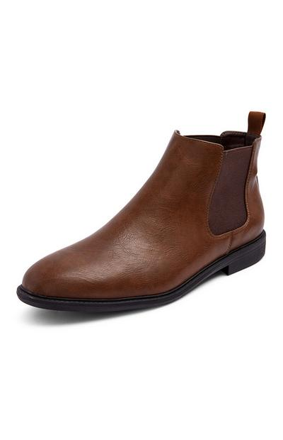Bottines Chelsea marron