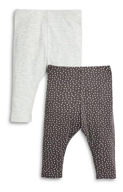 Baby Girl Leggings 2 Pack