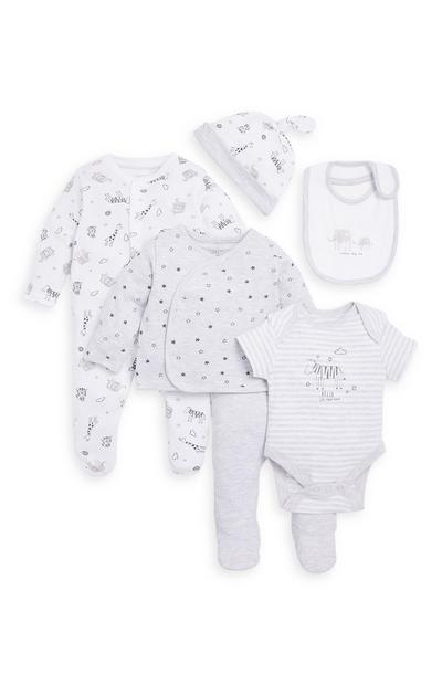 Baby Basics 6 Piece Gift Set