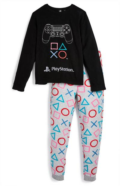 Pyjama PlayStation en polaire ado