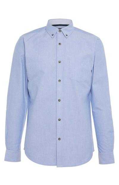 Blue Longsleeved Oxford Standard Shirt