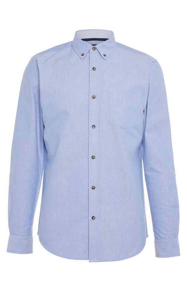 Blue Longsleeved Oxford Standard Shirt