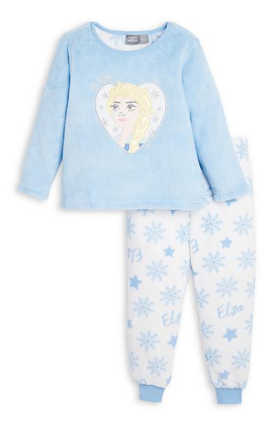 Pigiama Elsa in sherpa da bambina