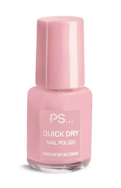PS Pink Quick Dry Nail Polish