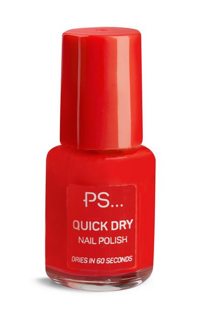 PS Red Quick Dry Nail Polish