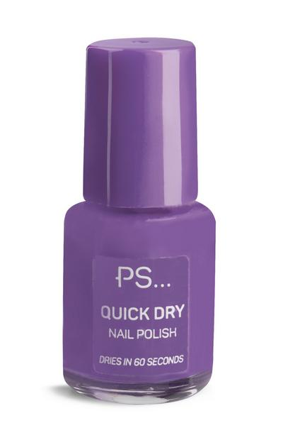 PS Purple Quick Dry Nail Polish
