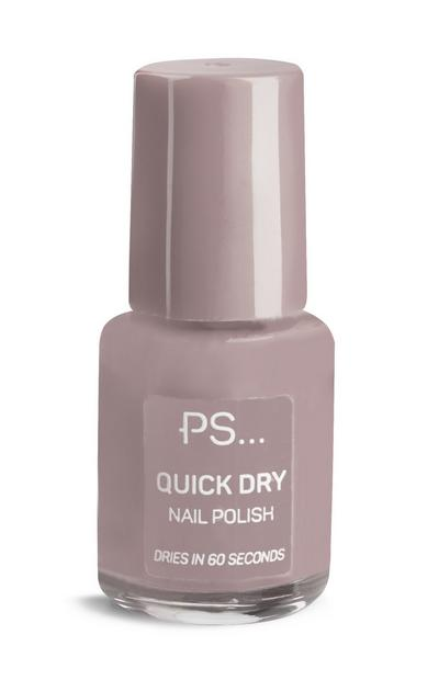 PS sneldrogende mauve nagellak