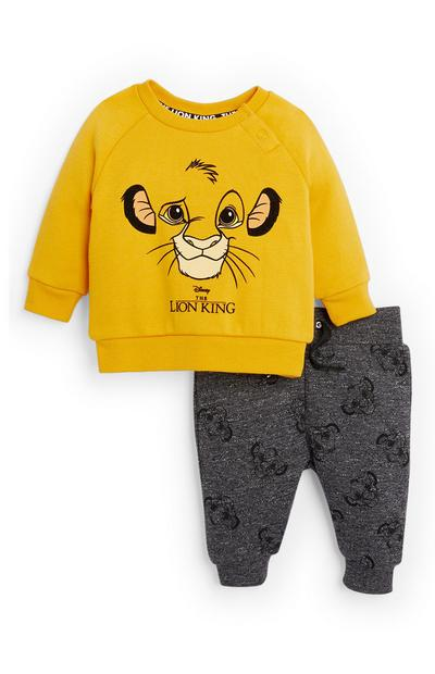 Baby Boy Lion King Sweatshirt and Jogger Set