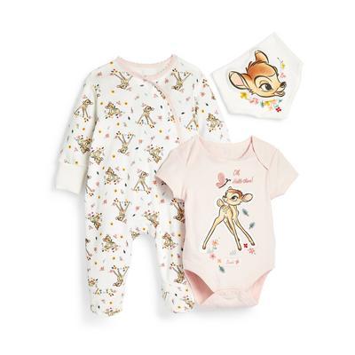 Babysetje Bambi voor meisjes